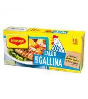 CALDO MAGGI GALLINA X 12U