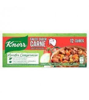 CALDO KNORR CARNE X 12 UN
