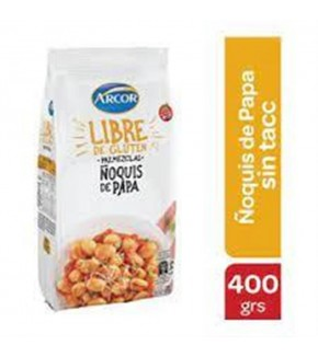 PREMEZCLA ÑOQUIS ARCOR SIN TACC 400 GR