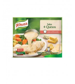 KNORR  SALSA 4 QUESOS 35 GRS.