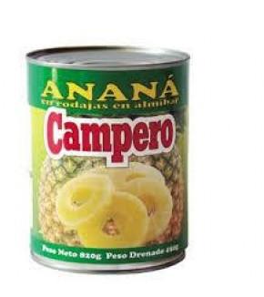 ANANA EN ALMIBAR CAMPERO 850 GR