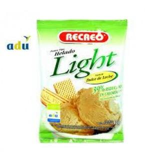HELADO RECREO LIGHT DULCE DE LECHE