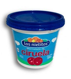 MERMELADA DE CIRUELA 500 GRS LOS NIETITOS