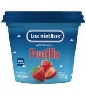 MERMELADA  LOS NIETITOS FRUTILLA 500 GRS.