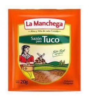 SAZON PARA TUCO LA MANCHEGA 20 GRS