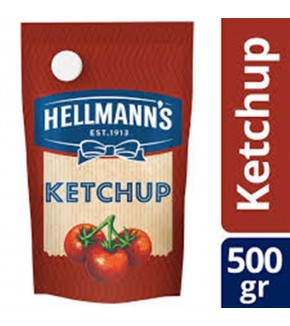 KETCHUP HELLMANNS 500 GRS.
