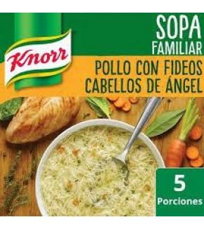 SOPA KNORR DE POLLO CON FIDEOS
