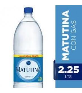 MATUTINA  2.25 LT CON GAS