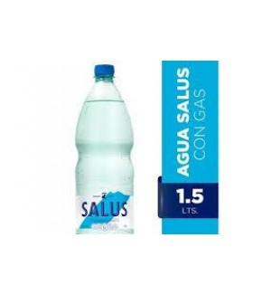 AGUA SALUS 1.5L CON GAS