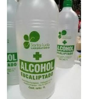 ALCOHOL BLANCO EUCALIPTADO SANTA LUCÍA AL 70