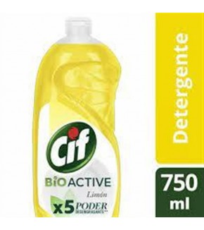 CIF ACTIVE GEL LIMON DETERGENTE 500ML
