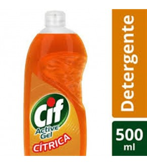 CIF DETERGENTE CITRICO 500ML