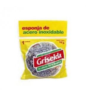 ESPONJA DE ACERO GRISELDA