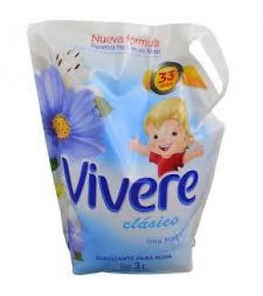 SUAVIZANTE VIVERE 3 L DOY PACK