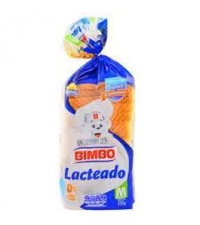 BIMBO PAN LACTEADO 435G