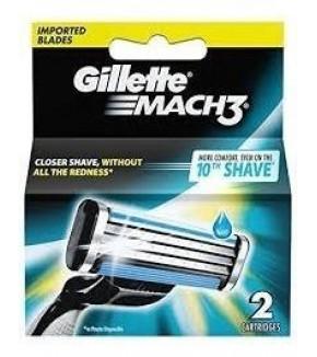 GILLETTE REP MACH 3 DISP. 2 UN.