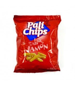 PALI CHIPS JAMON 180GR.