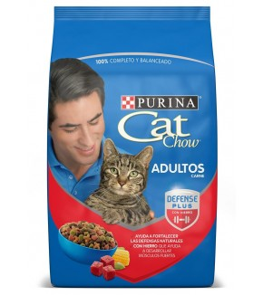 CAT CHOW ADULTOS X 500 CARNE