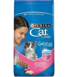 CAT CHOW GATITOS CARNE 500 GR