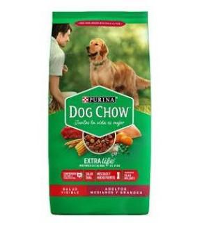 DOG CHOW ADULTO MEDIANO Y GRANDE 3 KILO