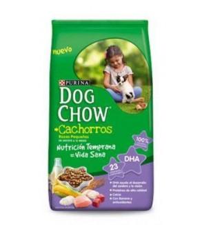 DOG CHOW CACH. RAZ. MED.Y PEQ. 3 K